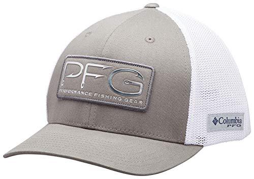 (Columbia Unisex PFG Mesh Hooks Ball Cap, Breathable, Adjustable)