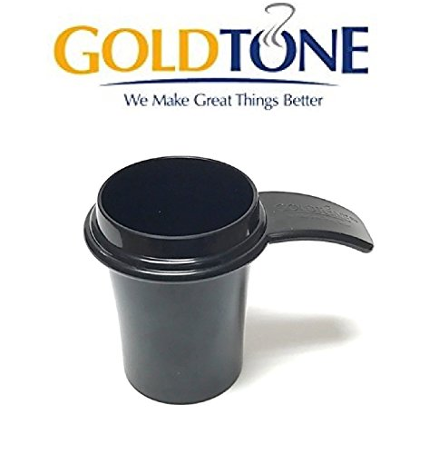 GoldTone 2-in-1 Reusable 1 Ounce Coffee Scoop and Tamper - Scoop, Fill, Tamper - Designed for Use with Keurig My K Cup System