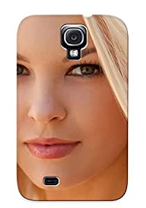 COliSyv2262ufeYU Blondes Women Models Bree Daniels Faces Awesome High Quality Galaxy S4 Case Skin/perfect Gift For Christmas Day