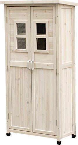 ウッドシェッドスリム (ホワイト) B076791DCW  ホワイト