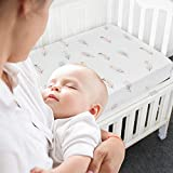 LifeTree Fitted Crib Sheets - Premium Cotton