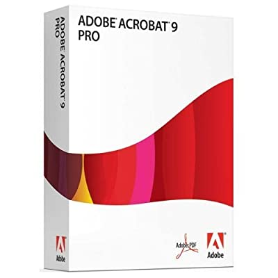 Adobe Acrobat Professional 9 [Mac] (Spanish)