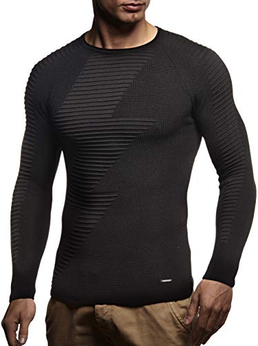 Leif Tinta Nelson shirt Uomo Manica Schwarz T Blitz Lunga Unita rxrFqPf