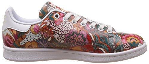 adidas Damen Stan Smith W Sneaker Mehrfarbig (Ftwwht/Ftwwht/Owhite)