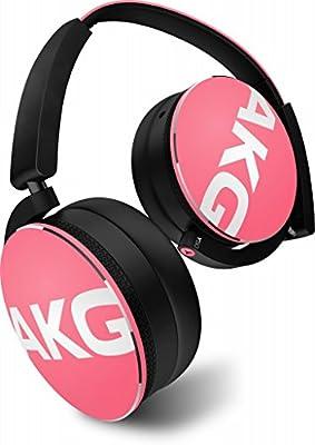AKG Y50 Sealed on-ear Headphones DJ-style pink Y50JEPNK