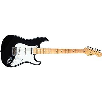 Fender Custom Shop Artist Series Eric Clapton Stratocaster Electric Guitar Black Maple Fretboard