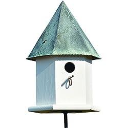 Heartwood 143A Copper Songbird Deluxe Decorative Bird House