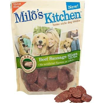 Amazon.com : Milo\'s Kitchen Home-Style Dog Treats 100% Real Beef ...