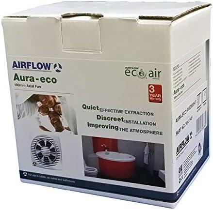 Flujo de aire Aura-eco extractor de 100T 100/mm temporizador ventilador