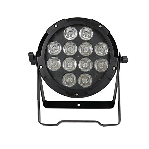 RGBWA UV 6IN1 Outdoor IP65 Battery Powered + Wireless DMX LED Par Light