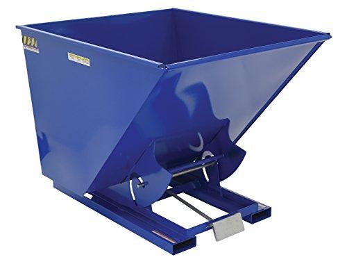 2 Cu. Yd. Self-Dumping Steel Hopper with Bump Release, 4000 Lb., Vestil D-200-MD, Lot of 1 (Vestil Hopper Self Dumping)