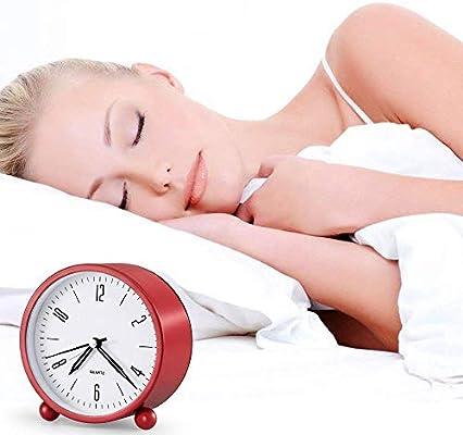 RXM Reloj Despertador silencioso Simulación Luz Nocturna sin ...