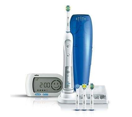 Oral-B - Cepillo de dientes eléctrico recargable Triumph 5000 - con  pantalla inalámbrica 38cce7ac140b