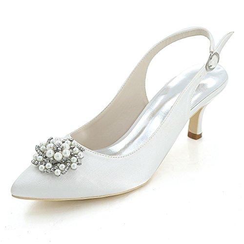 Colores yc De Zapatos Fiesta 1608 L 20w Más Disponibles White Mujer Para Altos Y Tarde Consejo Tacones Bodas pqnWxnOg