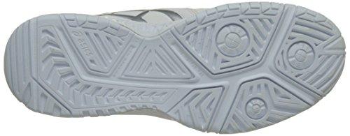 Asics Gel-Resolution 7, Zapatillas de Gimnasia para Mujer Blanco (White/silver)