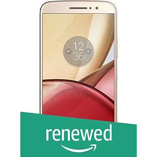 Renewed  Motorola Moto M XT1663  Gold, 64 GB
