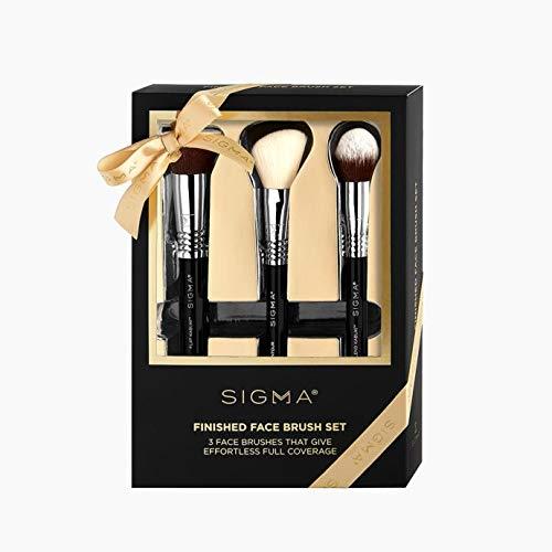 Sigma Beauty Finished Face Brush Set, 3 Brushes