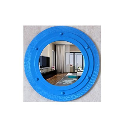 Decorative Basins Decorative Basins - European-Style Modern Simple Bathroom Mirror Decorative Mirror Wall Hanging Basin Mirror Bathroom Bathroom Mirror 51cm 30.5cm (OY-085) , a