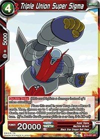 Dragon Ball Super TCG - Triple Union Super Sigma (Foil) - Series 3 Booster: Cross Worlds - -