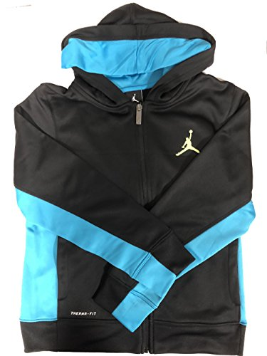 Nike Jordan Boys' Therma-FIT Fleece Full Zip Jacket (S)
