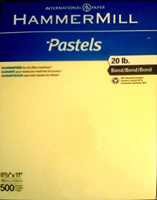 Hammermill Pastels Bond Paper (18321-0)