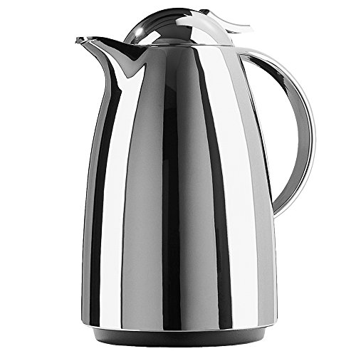 Emsa Auberge Magnum 68-Ounce Quick Tip Insulated Server, Chrome by Emsa