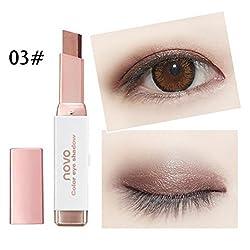 Silvercell Eye Shadow Stick Waterproof Double Colors Gradient Shimmer Eyeshadow Pen