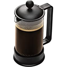 Bodum Brazil 3-Cup Glass Coffee Press, Black