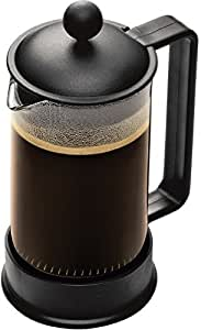 Bodum BRAZIL Coffee Maker, French Press Coffee Maker, Black, 12 Ounce (3 Cup)