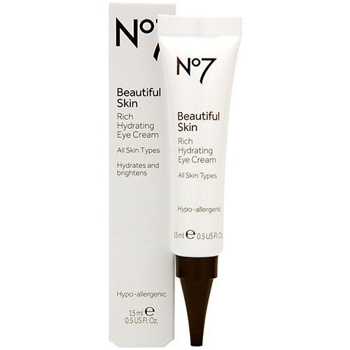 Boots No7 Beautiful Skin Rich Hydrating Eye Cream .5 oz.