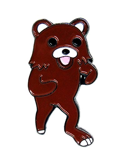[PedoBear Lapel Pin] (Rainbow Fish Book Costume)