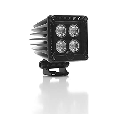 KC HiLiTES 310 KC Cube Series 20W LED Spot Light with Harness - Pair