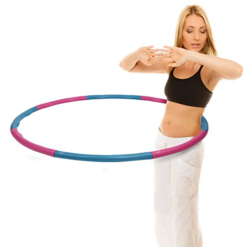 Weighted Hula Hoop|Fitness Workout Dancing Sport Exercise Hoop|Perfect Weight Loss Equipment|2.16LB(Dia.37