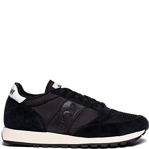 buy cheap how much free shipping pick a best Saucony Originals Men's Jazz Vintage Running Shoe Black jFsC4fgRQ