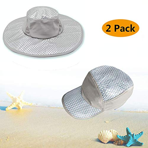 Wipkal 2019 2 Pcs New Cooling Hat