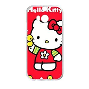 Happy Hello kitty Phone Case for HTC One M8 case