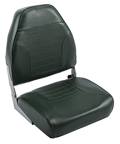 Wise 8WD588PLS-713 Mid-Back Fishing Boat Seat with Logo,