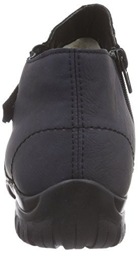 Rieker L4693 - botas de caño bajo de material sintético mujer azul - Blau (ozean / 14)
