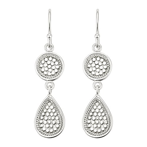 Anna Beck Sterling Silver Double Drop Earrings by Anna Beck