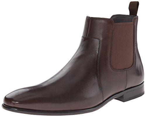 HUGO by Hugo Boss Men's C-hubot Chelsea Boot, Brown, 8 M US/7 UK