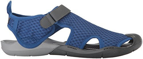 Blue Mesh Swiftwater Crocs Jean Women's Sandal 1Epx8qIw