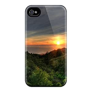 New Customized Design Sun Through The Forest For Iphone 6 Cases Comfortable For Lovers And Friends For Christmas Gifts