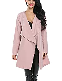 Pink Wool Coat Womens