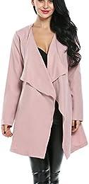 Amazon.com: Pink - Wool & Blends / Wool & Pea Coats: Clothing
