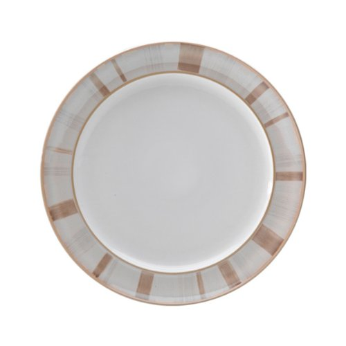 Wide Rimmed Dinner Plate (Denby Truffle Layers Wide Rimmed Dinner Plate)
