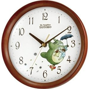 wall clock totoro