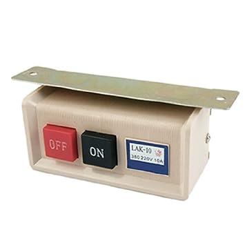 DealMux El botón de encendido / apagado para máquinas de coser industriales: Amazon.es: Juguetes y juegos