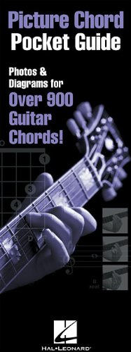 Picture Chord Pocket Guide: Photos & Diagrams for Over 900 Guitar Chords!