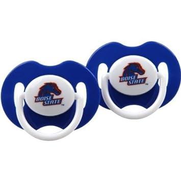 Amazon.com: Boise State Broncos Juego de 2 chupetes de bebés ...