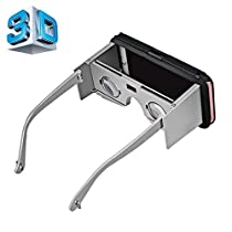 VR CASE 2 Virtual Reality 3D Video Glasses with Protective Case Function for iPhone 6 & 6s(Silver)